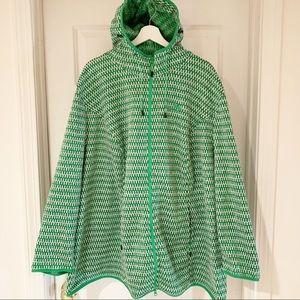 Ulla Popken Plus Size  Fleece Lined  Hooded Jacket
